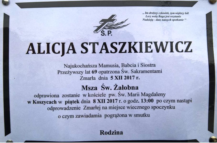 Alicja Staszkiewicz