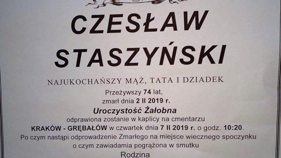 Czesław Staszyński