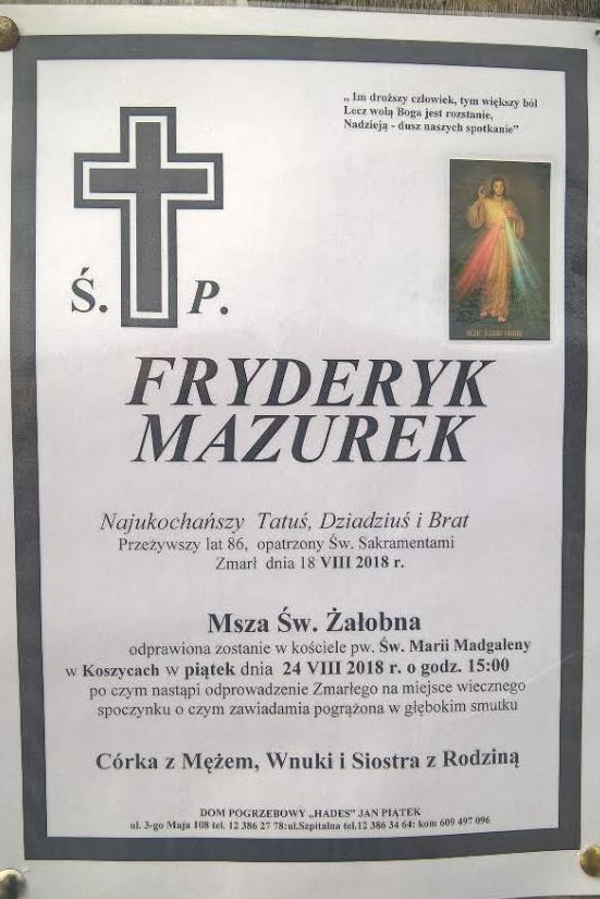 F. Mazurek