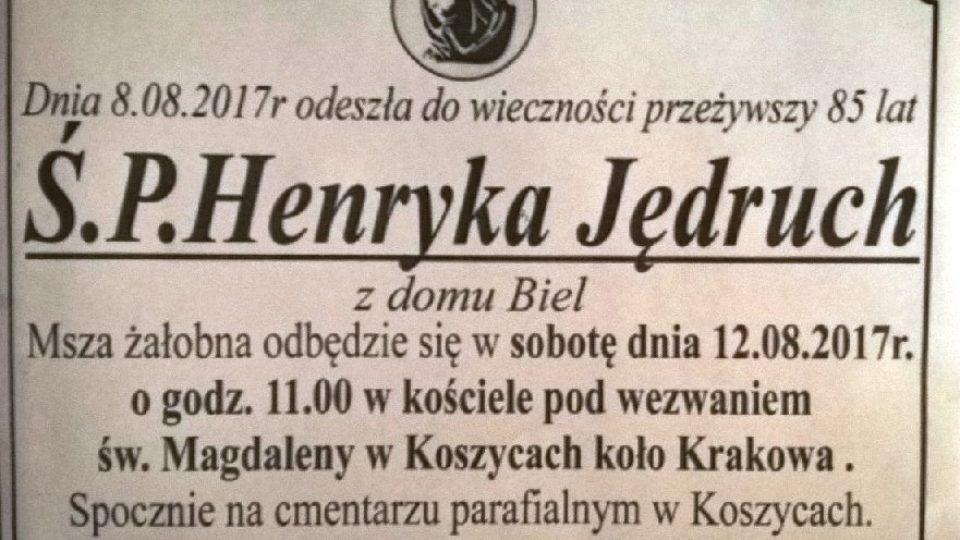 Henryka Jędruk
