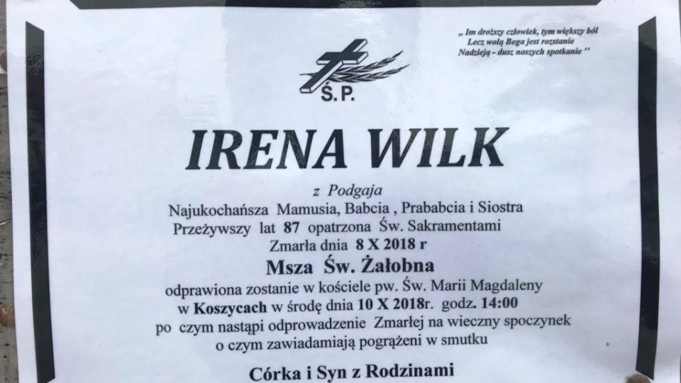 Irena Wilk
