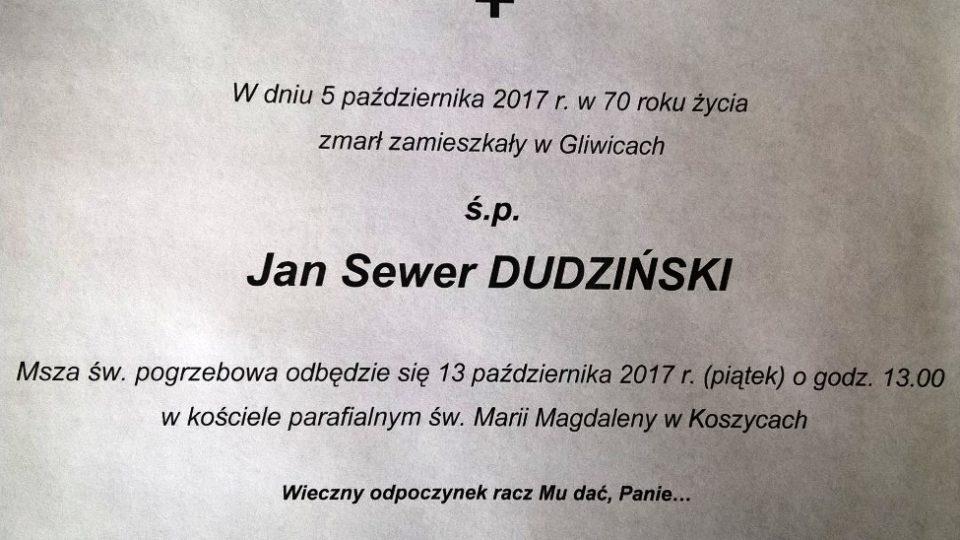 Jan Dudziński