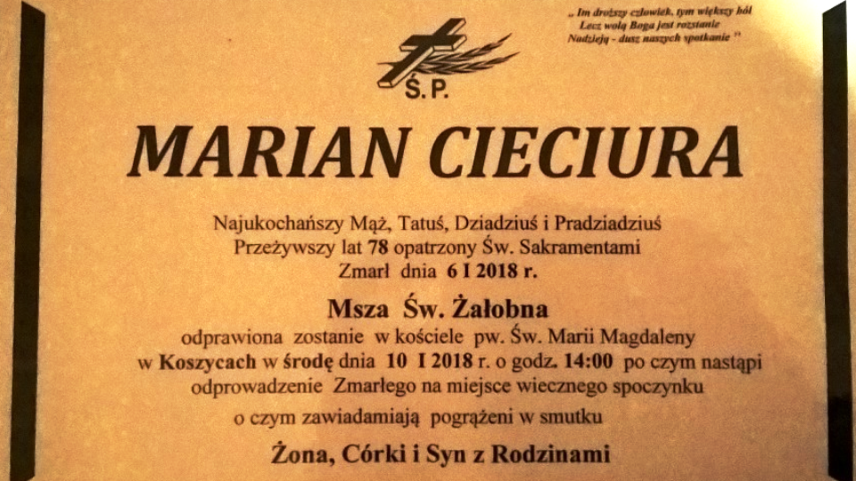 M. Cieciura