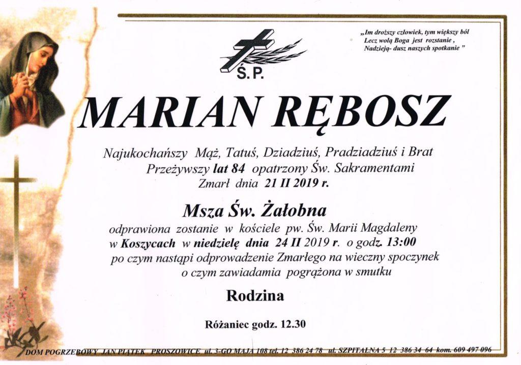 M. Rębosz