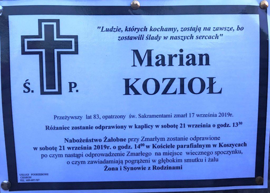 Marian Kozioł