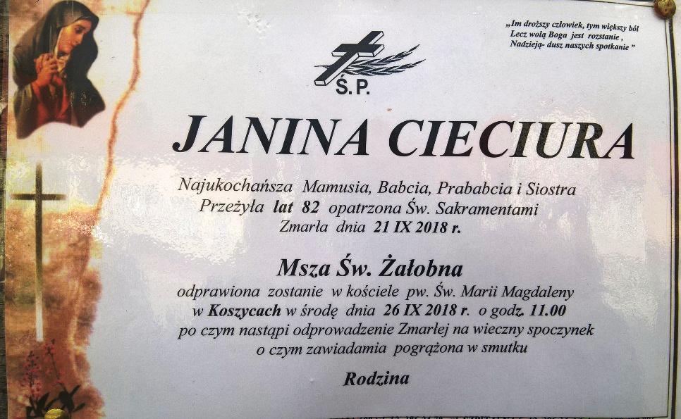 j. Cieciura