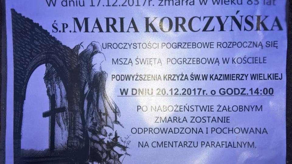 maria korczyńska